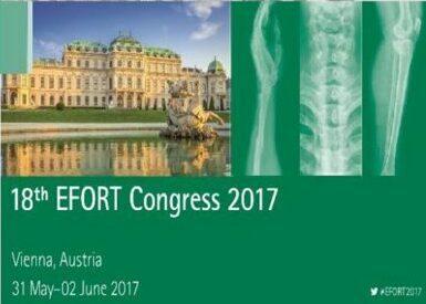 EFORT 2017 – 18й з'їзд асоціації ортопедів Європейських країн